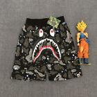Glow In Dark Camo Outfits Bape Suits Shark Face Shorts&T-Shirts A Bathing Ape