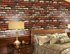 Stone Effect Tile Stickers Home Decor Kitchen Bathroom Wall Wallpaper Decal Dj8