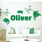 [WD101046] Personalised Name Children Wall Art Sticker - Super Heroes, Superman,