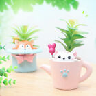 Mini Small Succulents Plants Flower Pot Window Table Decor Animal Shaped Planter