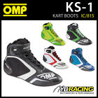 NEW! IC/815 OMP KS-1 KS1 KART KARTING RACE BOOTS  - NEW DESIGN FOR 2016!
