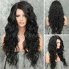 8A Natural Wave Brazilian Human Hair Wigs 180% Density Lace Front Wigs Baby Hair