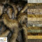 fake faux coats - FAUX FAKE FUR ANIMAL COAT COSTUME FABRIC BY THE YARD ACCESSORIES (Wolf Series)