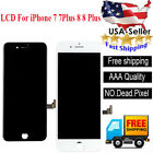 For iPhone 7 8 8 Plus LCD 3D Touch Screen Digitizer Display Assembly Replacement