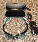 RIVBOS 805 POLARIZED Sports Sunglasses Glasses with 5 Set Interchangeable Lenses