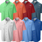 "Внешний вид - New Mens Columbia PFG ""Bahama II"" Omni-Shade Vented Short Sleeve Fishing Shirt"