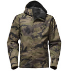 The North Face - Men Print Venture Jacket, Burnt Olive Green Sasquatch Camo Prin