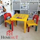 Table and Chair Set ABC Alphabet Childrens Plastic - Kids Toddlers Childs - Gift