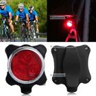 Bicycle Cycling Bike Head Front Rear Tail 3 LED light USB Rechargeable 4 mode B♮