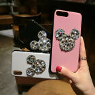 Cute Luxury Bling Diamonds Crystal Gems Soft Case Cover for iPhone X 6S 7 8 Plus