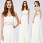 cream bridesmaid dresses - Ever-Pretty Long Formal Evening Gown Party Bridesmaid Dress 08984 Size 4-16