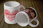 Personalised WORD CLOUD Photo Mug Cup Gift 11oz - Your Photos,Text & Design