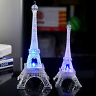 Cute Eiffel Tower Shape LED Color Changing Night Ligh Home Bedroom Decor Pretty