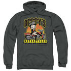 Betty Boop Betty'S Motorcycles Pullover Hoodies for Men or Kids $26.39 USD