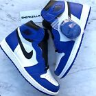 Nike Air Jordan Retro I 1 High OG GAME ROYAL White Blue 555088-403 Sz 13