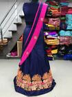 BRIDAL LEHENGA CHOLI WEDDING PARTY WEAR DESIGNER LEHENGA SUIT HTI