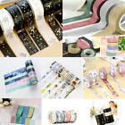 NEW DIY Floral Dream Washi Sticker Decor Roll Paper Masking Adhesive Tape Crafts on eBay
