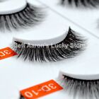 1 pair mink 3d false eyelashes extension fake eye lashes beauty makeup tools new