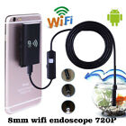 6LED USB WiFi Endoscope Inspection Camera Borescope IP67 Waterproof Fr Cellphone