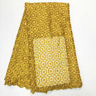 Wholesale Price Latest African cord lace 5 yards/lot in African lace fabric