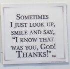 Thankful Grateful Blessed God possible smile cross religion pray church magnet