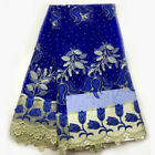 Hottest Selling African Lace Fabric High Quality African Net Cloth Lace  5 yards