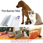 Electronic Pet Dog Cat Training Barrier Fence Pad Repellent Safe Scat Mat 2 Size
