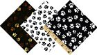 Paws Paw Prints Quilt Cotton fabric by the yard Timeless Treasures dog cat