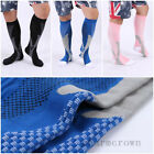 2Pairs 20-30 mmhg Sports Knee High Compression Socks for Outdoor Gym Run Fitness