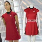 Star Trek into Darkness Cosplay Nyota Uhura Costume Communication Officer Dress on eBay