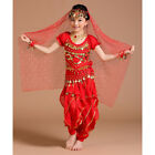 Children Girls Kids Belly Dance Costume Outfit Bollywood Halloween Indian Dance