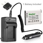 Li-50B Battery or Travel Charger for OLYMPUS Tough TG-610 ,