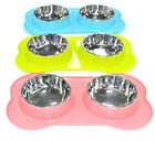 4 IN 1 - DOUBLE PLASTIC PET FEEDER WITH DOUBLE BOWL FOR DOG/CAT/ANY SMALL ANIMAL