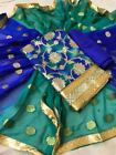 INDIAN ANARKALI SALWAR KAMEEZ SUIT DESIGNER PAKISTANI BOLLYWOOD Dress KH4