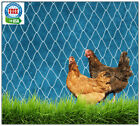 POULTRY NETTING 16' GAME BIRD PROTECTIVE PLANT NET CHICKEN QUAIL AVIARY PENS
