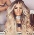 Ombre Blonde 7A 100% Brazilian Human Hair Wigs Lace front Wigs Full Lace Wigs