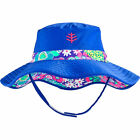 Coolibar UPF 50+ Baby Girls' Reversible Beach Bucket Hat
