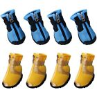 Clothing Shoes - US 4PCS Summer Breathable Pet Boots Cat Dog Anti-Slip Shoes Dog Paw Protector