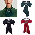 Women Fashion Bow Tie Vintage Cravat Chiffon Neck Tie Dressing Decor Neck Scarf