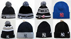 NY Yankees Cuffed Beanie Winter Cap Hat MLB Authentic