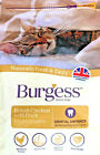 BURGESS ADULT CAT CHICKEN & DUCK : 1.5kg or 10kg Complete Dry Food bp Biscuits
