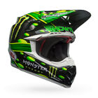 Bell Moto 9 Carbon Flex Showtime Monster Offroad Helmet 2018