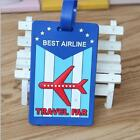 SALE Silicon Cartoon Travel Luggage Tags Name Address ID Bag Label Baggage Marks