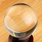 US Stock Clear Glass Crystal Ball Healing Sphere Photography Props Gifts 30-80mm