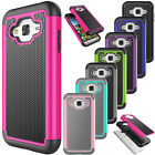 For Samsung Galaxy J3/J3 V/Express Prime/Amp Prime /Sol/Sky Hybrid Rugged Case