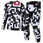 New TROY LEE DESIGNS TLD18 MX TLD GP AIR MAZE WHITE BLACK Jersey Pants Outfit MX
