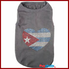 Pet Dog Clothes T-Shirt CUBA Flag - XXS,XS,S,M,L,XL