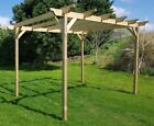 Wooden Garden Pergola Kit - Exclusive Pergola Range - Largest on Ebay