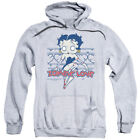 Betty Boop Zombie Pinup Pullover Hoodies for Men or Kids $27.05 USD