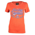 Sturgis Harley Davidson® Women's Custom Factory Orange Short Sleeve T-Shirt $25.0 USD on eBay